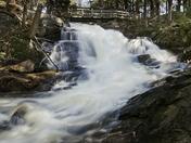 Spring Run-off High Falls Trib/Bracebridge Muskoka On