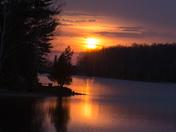 Trent Severn Sunset