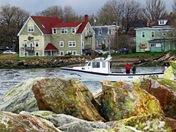 Fishermen of North Sydney, Cape Breton, Nova Scotia