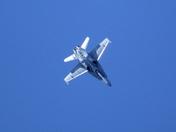2013 CF-18 Demo Jet - Diving