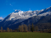 Mt Cheam Chilliwack - dressed for winter