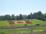 Canadian Flag at Riverside park Belleville