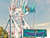 Travelling Carnie Ferris Wheel