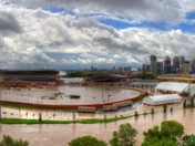 Calgary Stampede Grounds flooded - June 2013