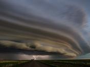 4a. Lightning under Saskatchewan storm