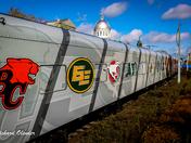 4a. Grey Cup train