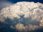 4c. Plane versus the storm cloud