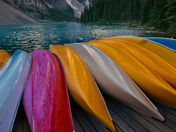 Moraine Lake Canoes