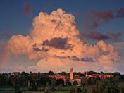 Cloudscape over U de Moncton campus