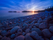 Gargantua Bay, Lake Superior Provincial Park