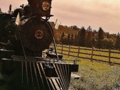 Steam Train at Fort Edmonton