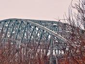 Skyway bridge over Hamilton