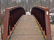 Ball's Falls walking bridge