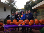 2nd annually DELOSA pumpkin carving contest