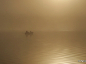 Canoeing in Fog