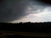 Storm Moving Into Ridgeland