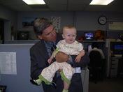 Stuart Kellogg Granddaughter, Madison Visits WAPT!