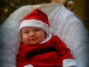 Litte Miss Santa