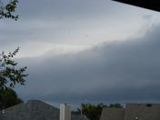July 30th storm in brandon, rez area