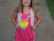 Carly's First Day of 1st Grade