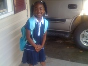 Kennedi's First Day( 1st Grade)