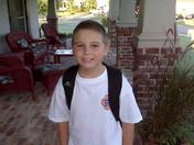 First day of Fifth grade- Madison