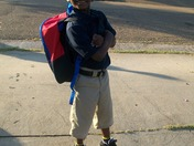 Delvin's first day