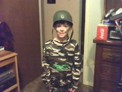 Halloween SGt Soldier