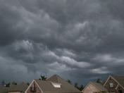 Ominous clouds in Flowood