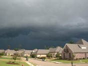 Storm clouds in Flowood