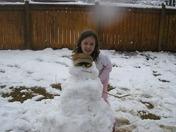 Snowman in Madison
