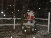 Jake Nelson and Santa