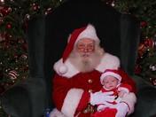 Big Santa and Little Santa
