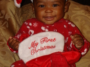 Kamryn A. Shelton's 1st Christmas [Silver Spoon Learning Center Pajama Party Pic