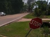 Fire in ridgeland