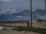 bad weather down in Taylorsville Mississippi