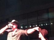 Frank Foster and Ashton singing