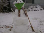 Mr Snow man