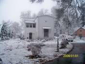 Thompson house n all this SNOW!!