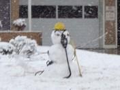 Firefighter Snowman 2