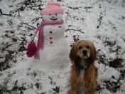 Hank and snow princess