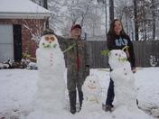 Grantham Snow Family