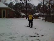SNOWBOARDING in Ridgeland, MS!