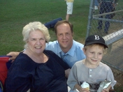 Suzanne Simmons, Son Scott Simmons and Grandson Evan Simmons