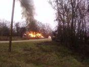 Club Fire on Gary Drive off 49N