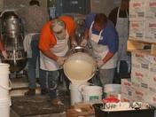 Preparing the Batter at the Asparagus Festival