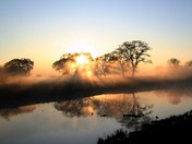 Sunrise on the San Joaquin