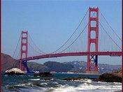 Breaker Side of Golden Gate Bridge