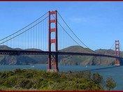 Bay Side of Golden Gate Bridge