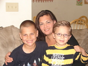 Me and 2 of my 4 boys